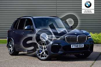 BMW X5 Diesel xDrive30d M Sport 5dr Auto in Arctic Grey at Listers Boston (BMW)