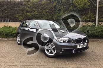 BMW 1 Series 118d SE 5-door in Mineral Grey at Listers King's Lynn (BMW)