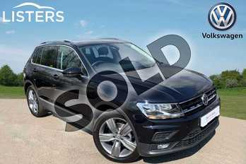 Volkswagen Tiguan 1.5 TSI EVO 130 Match 5dr in Deep Black at Listers Volkswagen Leamington Spa