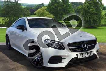 Mercedes-Benz E Class Diesel E220d AMG Line 2dr 9G-Tronic in Polar White at Mercedes-Benz of Grimsby