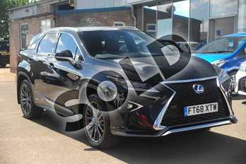 Lexus RX 450h 3.5 F-Sport 5dr CVT (Premium +Tech/Safety pk) in Graphite Black at Lexus Lincoln