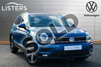 Volkswagen Tiguan 1.5 TSI EVO 130 SE 5dr in Caribbean Blue at Listers Volkswagen Worcester