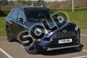 Toyota RAV4 2.5 VVT-i Hybrid Dynamic 5dr CVT (Pan Roof) 2WD in Blue at Listers Toyota Lincoln