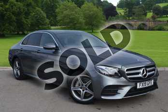 Mercedes-Benz E Class Diesel E300de AMG Line Premium 4dr 9G-Tronic in selenite grey metallic at Mercedes-Benz of Boston
