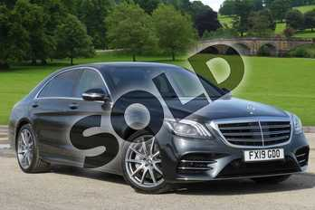 Mercedes-Benz S Class Diesel S350d L AMG Line Premium 4dr 9G-Tronic in Magnetite Black metallic at Mercedes-Benz of Boston