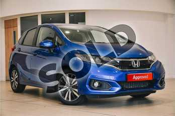 Honda Jazz 1.3 i-VTEC EX Navi 5dr in Brilliant Sporty Blue Metallic at Listers Honda Northampton