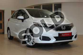 Honda Jazz 1.3 SE 5dr in Premium White Pearl Pearl Effect at Listers Honda Northampton
