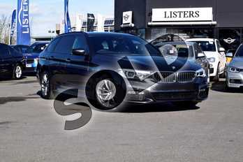 BMW 5 Series Diesel Touring 520d M Sport 5dr Auto in Sophisto Grey Xirallic at Listers Boston (BMW)