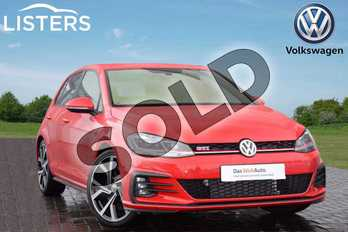Volkswagen Golf 2.0 TSI 245 GTI Performance 5dr DSG in Tornado Red at Listers Volkswagen Coventry