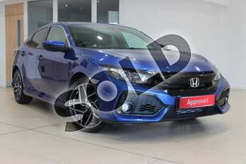 Honda Civic 2017 1.0 VTEC TURBO SR in Brilliant Sporty Blue Metallic at Listers Honda Northampton