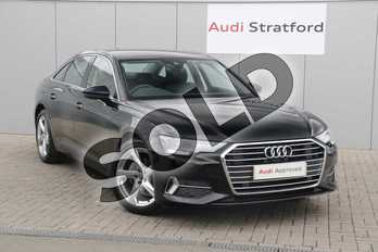 Audi A6 Diesel 40 TDI Sport 4dr S Tronic in Brilliant Black at Stratford Audi