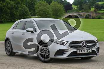 Mercedes-Benz A Class Diesel A180d AMG Line Executive 5dr Auto in Iridium Silver Metallic at Mercedes-Benz of Boston