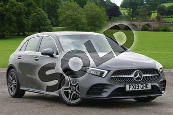 Mercedes-Benz A Class Diesel A200d AMG Line Premium 5dr Auto in Mountain Grey Metallic at Mercedes-Benz of Boston