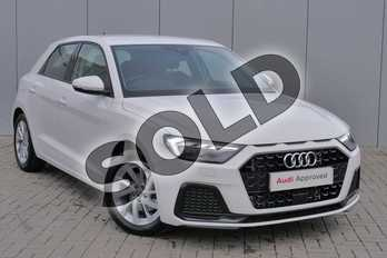 Audi A1 35 TFSI Sport 5dr S Tronic in Shell White at Stratford Audi