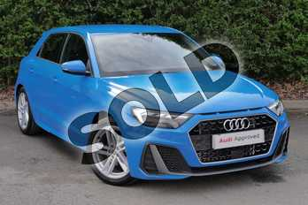 Audi A1 30 TFSI S Line 5dr S Tronic in Turbo Blue at Worcester Audi
