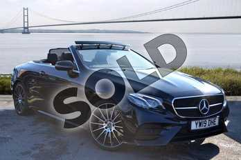 Mercedes-Benz E Class Diesel E220d AMG Line 2dr 9G-Tronic in obsidian black metallic at Mercedes-Benz of Hull