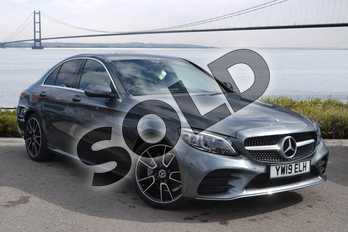 Mercedes-Benz C Class C200 AMG Line Premium 4dr 9G-Tronic in selenite grey metallic at Mercedes-Benz of Hull