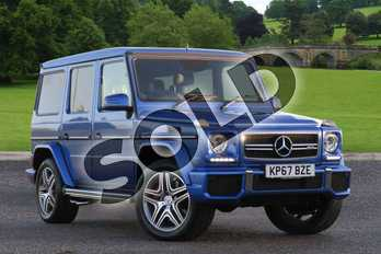 Mercedes-Benz G Class AMG Station Wagon Special Edition G63 Colour Edition 5dr Tip Auto in designo mauritius blue metallic 4) at Mercedes-Benz of Lincoln