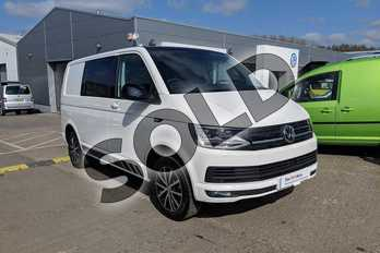 Volkswagen Transporter T30 SWB Diesel 2.0 TDI BMT 150 Edition Kombi Van DSG in Candy White with Black Roof  at Listers Volkswagen Van Centre Worcestershire