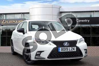 Lexus CT 200h 1.8 5dr CVT (Sport Pack) in Sonic White at Lexus Coventry