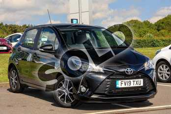 Toyota Yaris 1.5 VVT-i Icon Tech 5dr CVT in Black at Listers Toyota Lincoln