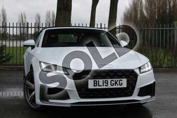 Audi TT 45 TFSI Quattro S Line 2dr S Tronic in Glacier White Metallic at Coventry Audi