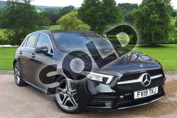 Mercedes-Benz A Class Diesel A200d AMG Line Premium 5dr Auto in Cosmos Black Metallic at Mercedes-Benz of Grimsby