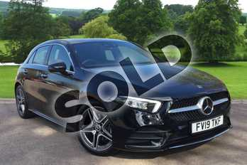 Mercedes-Benz A Class A200 AMG Line Premium 5dr Auto in Cosmos Black Metallic at Mercedes-Benz of Grimsby
