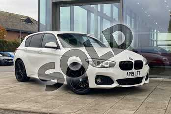 BMW 1 Series Special Edition 116d M Sport Shadow Ed 5dr Step Auto in Alpine White at Listers King's Lynn (BMW)