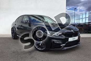 BMW M3 Special Editions M3 CS 4dr DCT in Black Sapphire metallic paint at Listers King's Lynn (BMW)