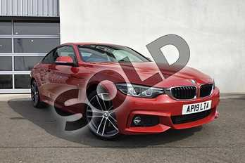 BMW 4 Series 420i M Sport 2dr Auto (Professional Media) in Melbourne Red metallic at Listers King's Lynn (BMW)