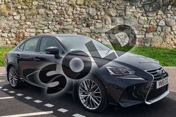 Lexus IS 300h 4dr CVT Auto (Premium Pack) in Graphite Black at Lexus Cheltenham