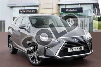 Lexus RX 450h 3.5 5dr CVT (Premium pack +Tech/Safety Pk) in Mercury Grey at Lexus Cheltenham