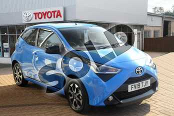 Toyota AYGO 1.0 VVT-i X-Trend 5dr in Cyan Splash at Listers Toyota Grantham