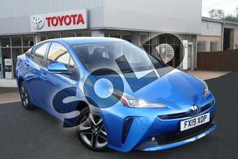 Toyota Prius 1.8 VVTi Business Edition 5dr CVT in Blue Crush at Listers Toyota Grantham