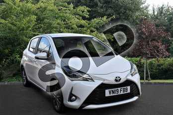 Toyota Yaris 1.5 VVT-i Icon 5dr in Pure White at Listers Toyota Stratford-upon-Avon