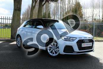 Audi A1 35 TFSI Sport 5dr in Glacier White Metallic at Coventry Audi