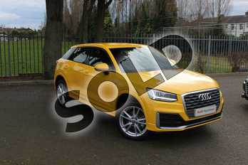 Audi Q2 Diesel 30 TDI S Line 5dr in Vegas Yellow at Coventry Audi