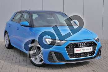 Audi A1 35 TFSI S Line 5dr S Tronic in Turbo Blue at Stratford Audi