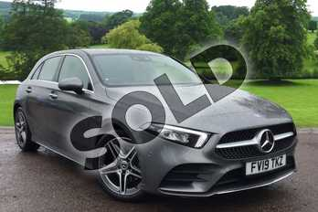 Mercedes-Benz A Class Diesel A200d AMG Line Premium 5dr Auto in Mountain Grey Metallic at Mercedes-Benz of Grimsby