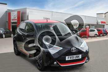 Toyota AYGO 1.0 VVT-i X-Press 5dr in Bold Black at Listers Toyota Boston
