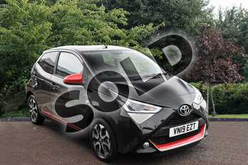 Toyota AYGO 1.0 VVT-i X-Trend 5dr in Black at Listers Toyota Stratford-upon-Avon