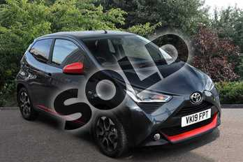 Toyota AYGO 1.0 VVT-i X-Trend 5dr x-shift in Grey at Listers Toyota Stratford-upon-Avon