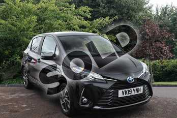 Toyota Yaris 1.5 Hybrid Y20 5dr CVT in Black at Listers Toyota Stratford-upon-Avon