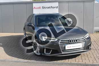 Audi A4 Diesel 35 TDI S Line 5dr S Tronic in Daytona Grey Pearlescent at Worcester Audi