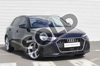 Audi A1 30 TFSI Sport 5dr S Tronic in Firmament Blue Metallic at Birmingham Audi