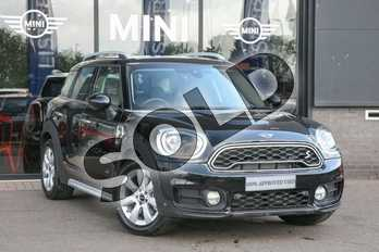 MINI Countryman 1.5 Cooper S E Classic ALL4 PHEV 5dr Auto in Midnight Black at Listers Boston (MINI)