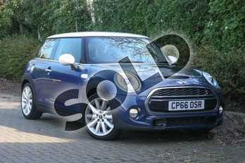 MINI Hatchback 2.0 Cooper S 3dr Auto in Deep Blue at Listers Boston (MINI)