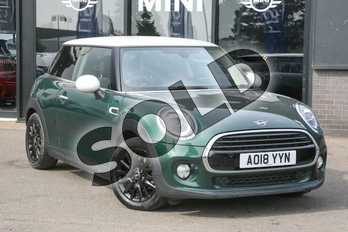 MINI Hatchback Diesel 1.5 Cooper D II 3dr Step Auto in British Racing Green at Listers Boston (MINI)