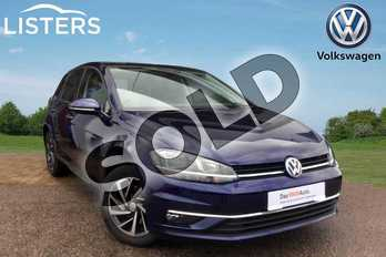 Volkswagen Golf Diesel 2.0 TDI Match 5dr DSG in Atlantic Blue at Listers Volkswagen Loughborough